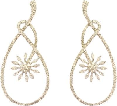 Adrisya Adrisya Fleur Dream Alloy Stud Earring