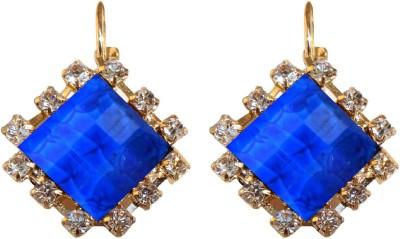 Shreya Collection Spring Sparkle-Blue Alloy Drop Earring