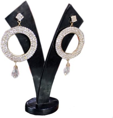 Aza Collections Dazzling Alloy Drop Earring