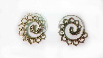 zenith jewels princess70 Brass Stud Earring