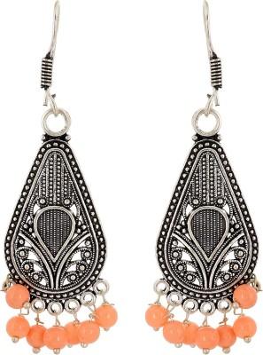 Subharpit Style Diva Beads Metal Dangle Earring