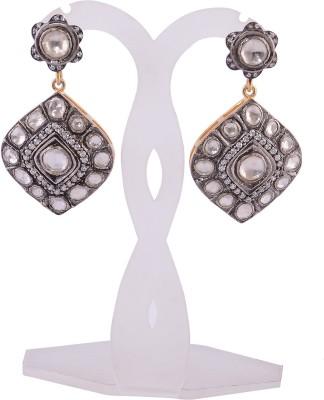 Silvery SGPE-052-MN Silver Drop Earring