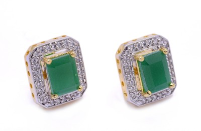 Hyderabad Jewels Silver, Alloy Stud Earring