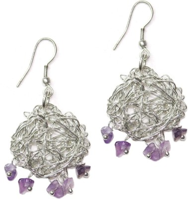 Homefoster Tangled Magic Silver Dangle Earring