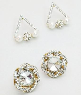 NEHASTORE Combo Offer CB06 Mother of Pearl Alloy Earring Set