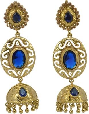 SaloniFashionJewellery Golden Copper, Brass Jhumki Earring