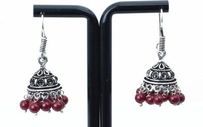 Waama Jewels pretty Marron Metal Jhumki Earring