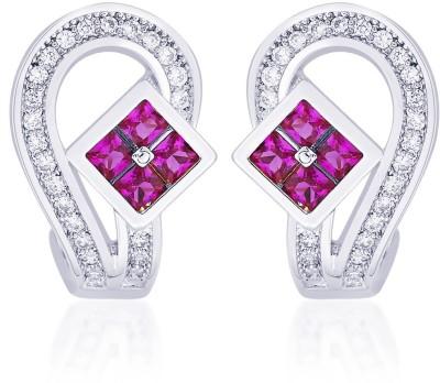 Peora Cute Dimond shaped Brass Stud Earring