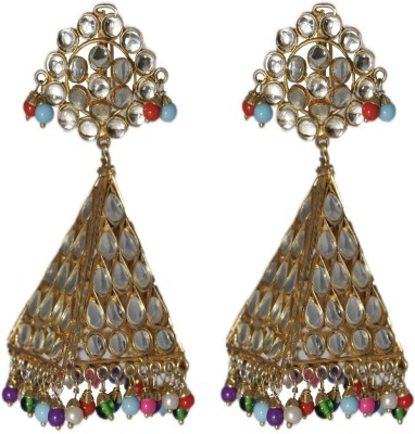 LE Jharokhas Alloy Drop Earring
