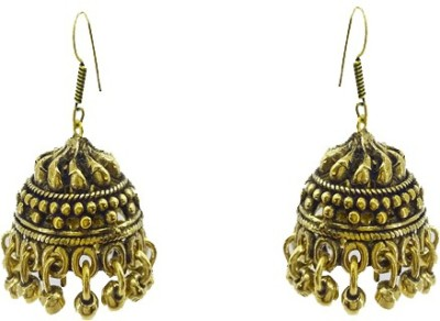 Gurjari SMALLROUND Brass Jhumki Earring