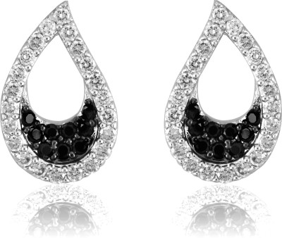 Infinity Improve Brass Stud Earring