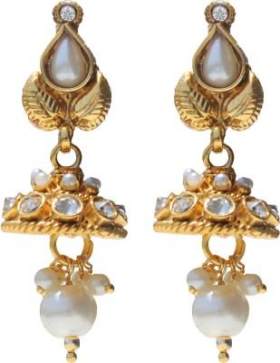 moKanc Wedding-Collection Pearl Copper Jhumki Earring