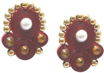Charvee Traditional Quilling Paper Stud Earring