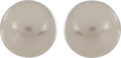 S S Jewellers Stylish Delight Silver Stud Earring