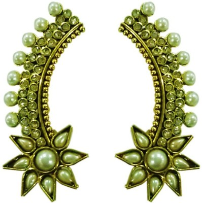 Deco Junction Ethnic Alloy Cuff Earring
