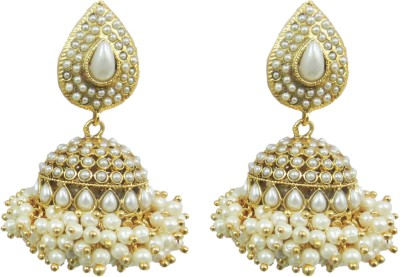 Deco Junction Alloy Jhumki Earring