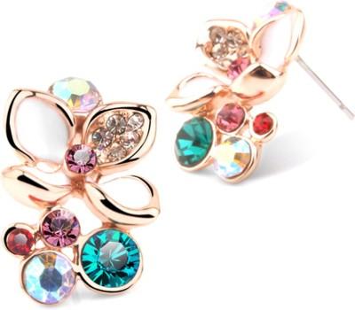 University Trendz UNIV_E007 Crystal Alloy Stud Earring