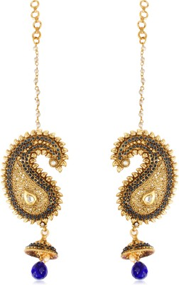 Adwitiya Collection Copper Drop Earring