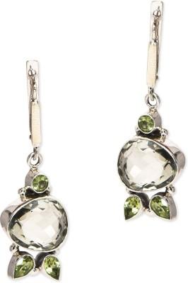 Watch Me Crystal Mosaic - Sterling Silver Dangle Earring