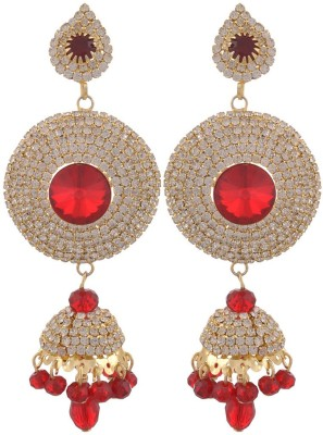 Blacksmith Diva Delight Crystal Metal Jhumki Earring