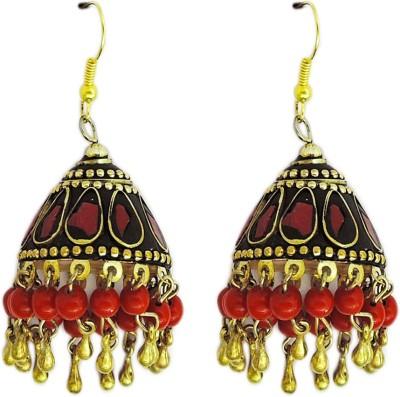 Yogada Handmade012 Brass Jhumki Earring