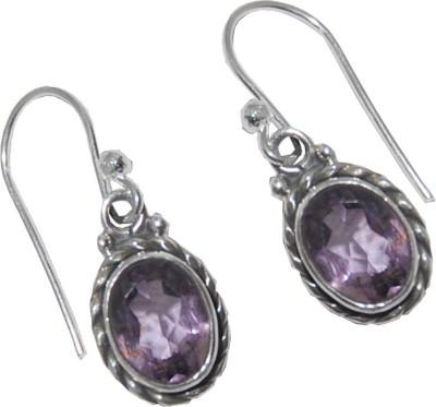 Arvino Everywhere Earrings Amethyst Sterling Silver Dangle Earring