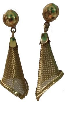 modifier Golden Alloy Alloy Drop Earring