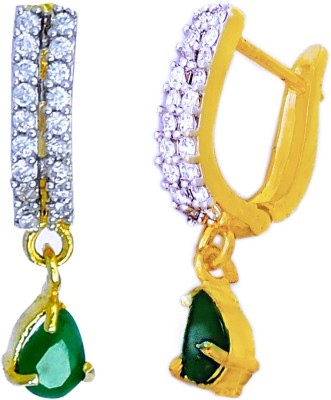 Aura Collection AD Stylish Alloy Drop Earring