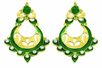 Rituals Ethnicity Cubic Zirconia Alloy Chandbali Earring
