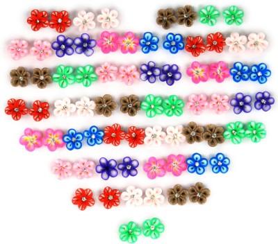 SPM Multi Sparkle Cubic Zirconia Alloy Earring Set