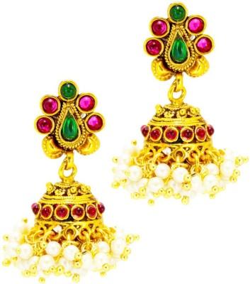 Satyam Jewellery Nx Traditional & Beautiful Copper Jhumki Earring