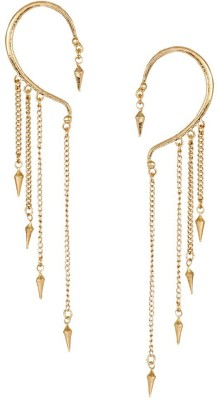 the jewelbox Gothic Spike Alloy Cuff Earring
