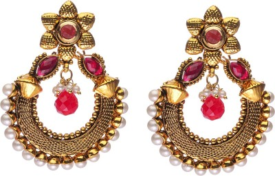 Rays Designer Copper Chandbali Earring