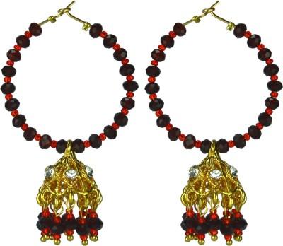Dressme Designer Collections Crystal Jhumki Earring