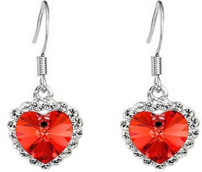 Glitz Trendy Crystal Alloy Drop Earring
