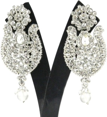 Tradeyard Impex Party Cubic Zirconia Alloy Drop Earring