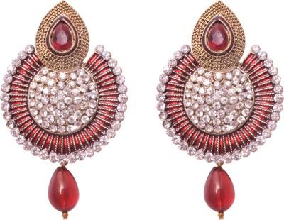 Shopernow Traditional designer ethnic jewels Alloy Dangle Earring