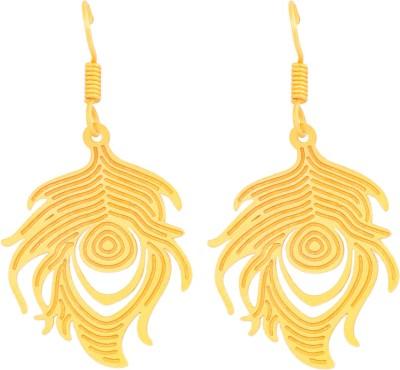 Ijuels Fashionable Sparkle Delight Brass, Alloy Drop Earring