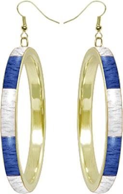 Kenway Retail Suave Luxe Brass, Bone Dangle Earring