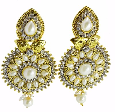 GB Jewellery Traditional Ethnic Bollywood Fashion Alloy Dangle Earring