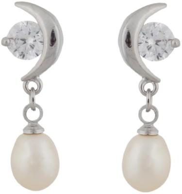 Classique Designer Jewellery Beautiful Pearl Alloy Drop Earring