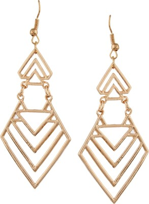 Fayon Designer Geometric Alloy Drop Earring