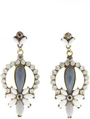 AQ Gem Cluster Acrylic Drop Earring