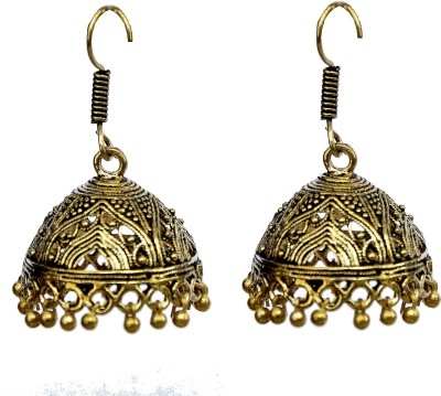Itz About U Mary Spark Alloy Jhumki Earring