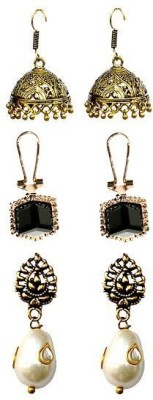 Itz About U Princess Delight Alloy Earring Set