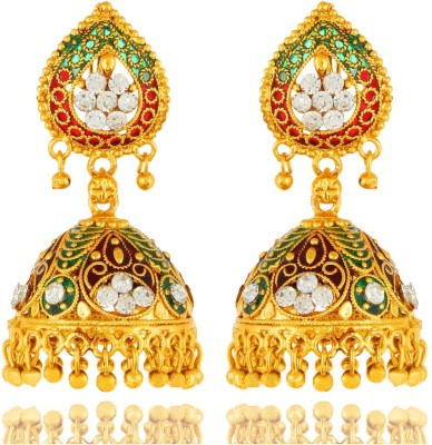 Bling N Beads Antique Traditional Alloy Jhumki Earring