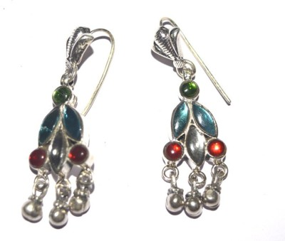 Silvermerc Designs SME 524 Silver Dangle Earring