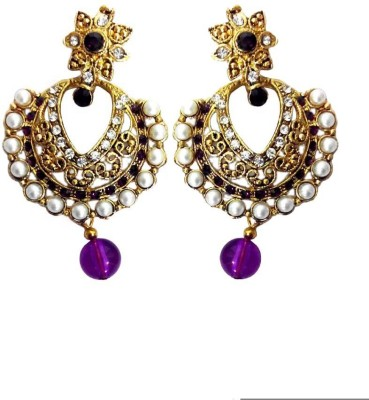 High Fashion Sizzling Star Metal Chandelier Earring