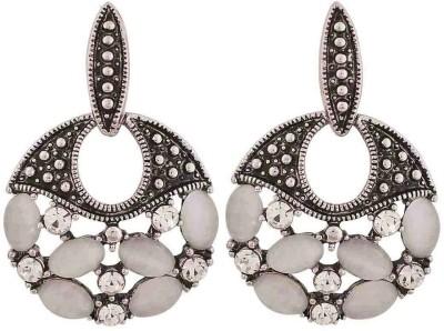 Maayra Superb Crystal Alloy Drop Earring