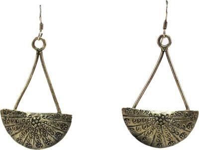 GnJ Antique Sterling Silver Dangle Earring